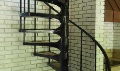 Painted Brick Stairway