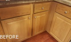Before - Cabinetry