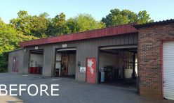 Before - Exterior Commercial