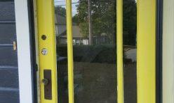 Exterior Door Paint Job